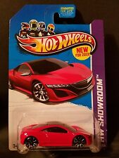 2013 Hot Wheels #156 - HW Showroom  - '12 Acura NSX Concept - Red