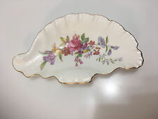 Adderley Floral Bone China England Pin Candy Trinket Dish