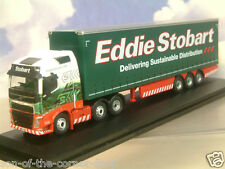 "OXFORD 1/76 VOLVO FH4 CURTAINSIDE TRAILER EDDIE STOBART ""PHOEBE GRACE"" 76VOL4001"