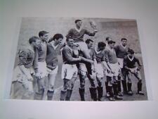 Rangers FC 1962 Scottish Cup Final Eric Caldow Jim Baxter and team photo