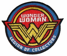 "Wonder Woman Legion of collectors 3"" Tall Embroidered Costume Patch"