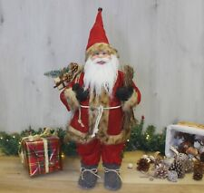 90cm Large Free Standing Santa Claus Christmas Decoration Traditional Xmas