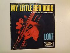 """LOVE: (w/Arthur Lee) My Little Red Book-Hey Joe-Germany 7"""" 66 Vogue DV 14538 PSL"""