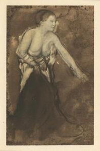 """Edgar Degas """"Femme a demi devetue"""""""