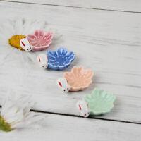 Japanese Chopstick Rest Bunny Flower Pen Holder Spoon Fork Rack Home Decor Acc