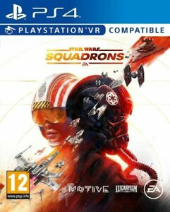 Star Wars Squadrons Video Game for Sony Playstation 4  NEW SEALED