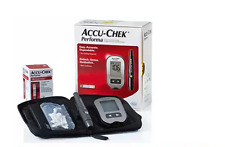 New Accu Chek Performa Blood Glucose Meter + 10 Softclix lancets + 10 free tests