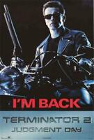 Terminator 2: Judgement Day 1991 Movie Poster 23x35