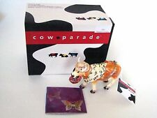 Jeweled Trinket Hinged Box - Cow Parade Madame Lavache Style 3583