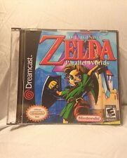 The Legend of Zelda Parallel Worlds Custom Sega Dreamcast Game.