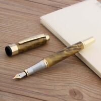 High quality YIREN 566 Blue colour practise calligraphy Fountain Pen New
