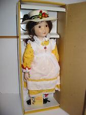Vtg 80's Doll Gorham Holly Hobbie Musical Porcelain Sunday Best/Sing #Hh2 Gift