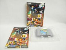 BOMBERMAN HERO Milian Item Ref/bcc Nintendo 64 Hudson Japan Boxed Game n6