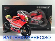 MINICHAMPS VALENTINO ROSSI 1/12 DUCATI DESMOSEDICI 2011 GP11.1 LIMITED 122111046