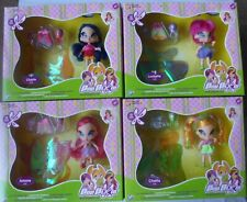 More details for poppixie  set of 4 pop pixie - chatta - lockette - amore - cherie ( winx club )