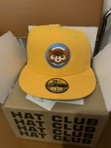 Hat Club Exclusive New Era Cereal Pack Chicago Cubs Wrigley Patch Size 7!