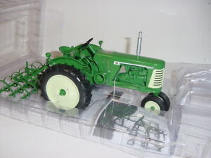 1/16 High Detail Oliver 660 Tractor W/Spring Tooth Harrow NIB! Great Price!