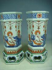 beautiful chinese wu cai porcelain vases