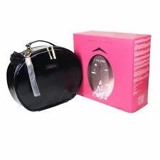 Lancome Parisian Holiday 2017 Beauty Collection Cosmetic Train Case Black NIB