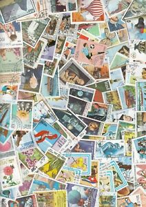 Laos  100 Different Stamps Collection Mixture Packet Stamps