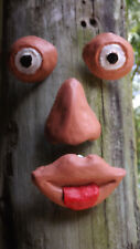 Eyes, Nose And Mouth Moulds .. TREE FACE ... MOULDS 4 YOU ... #F914