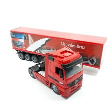 1/43	TRUCK CAMION TRAYLER MERCEDES-BENZ ACTROS 1857 ROJO NEW RAY