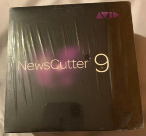 Avid NewsCutter 9 Brand New Sealed Retail Box Software Everything Is Included