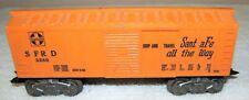 VINTAGE--MARX--SANTA FE--BOX CAR--SFRD 3280--O SCALE
