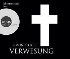 Verwesung von Simon Beckett6 CDs gelesen von Johannes Steck