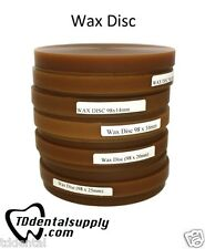Brown Wax Disc 98.5mm Diameter (5 Pack) *MIX & MATCH!*