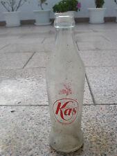 Botellín SERIGRAFIADO de refresco de KAS AÑOS 70