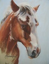 A Portrait of Your Horse in Pastel by Professional Artist Christopher Cole