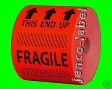 HF4602R, 500 4x6 This End Up Fragile Label/Sticker