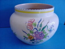 POOLE POTTERY LL PATTERN SHAPE 922 PLANTER JARDINIERE