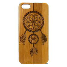 Dreamcatcher Case for iPhone 6 6S Bamboo Wood Phone Cover Native American Dream
