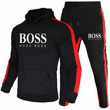 DE Herren 2Pic Jogging Anzug Hoodies Sweatshirt Hosen Trainingsanzug Sportanzug
