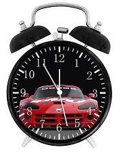 "Dodge Viper Alarm Desk Clock 3.75"" Home or Office Decor W209 Nice Gift"