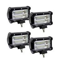 "5"" Inch 72W 10800LM LED Work Fog Light Car Spot Flood Bar for Jeep SUV New"