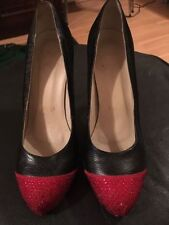 Christian Louboutin Women's No Pattern Patent Leather Heels