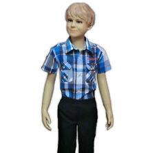 Markenlose Größe 128 Jungen-T-Shirts, - Polos & -Hemden aus 100% Baumwolle