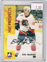 2005-06 ITG Heroes and Prospects Autographs Series II #EN2 Eric Nystrom NM-MT Au