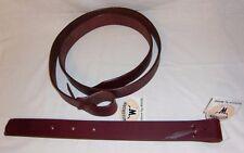 Busse Tie-strap Leder-pro Sattelgurt