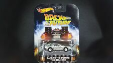 HOT WHEELS RETRO ENTERTAINMENT BACK TO THE FUTURE TIME MACHINE SAVE 5% WORLDWIDE