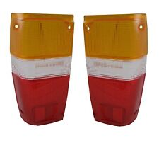 Rear tail light LENS Pair for Toyota Hilux Mk2 lamp pickup new part plastic new
