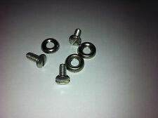 lambretta LI 125 150 headlight rim screws cup washers  series 3 LI stainless