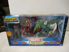 2005 Marvel Legends Spiderman's Fearsome Foes Vulture, Lizard, Carnage, Rhino