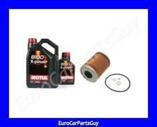 Motul 8100 X-POWER 10W60 Synthetic Oil Change Filter Kit BMW s54 e46 M3 Z4M