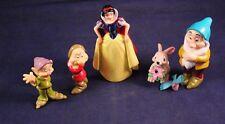 Fun Lot Set of 5 Disney Pvc Snow White Figures