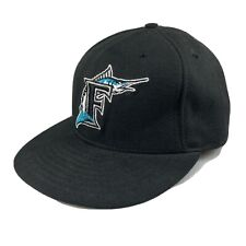 Throwback Miami Florida Marlins New Era 59fifty Fitted Hat Men's Size 7 3/8