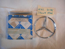 Mercedes Benz W186 Adenauer Rear Trunk Lid Star Emblem  NOS